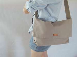 minimalist sling bag steel