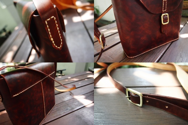 Mathilda Crossbody - Brown