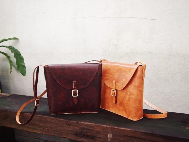 Mathilda Cross-body Leather Bag