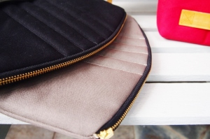 Quilted Diane Clutch