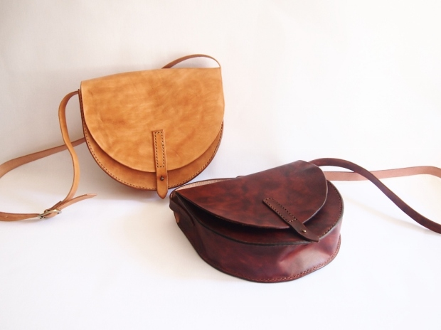 Anne Half Round Leather Bag
