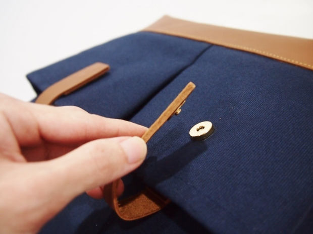 Dokument Bag 2 - Navy Blue