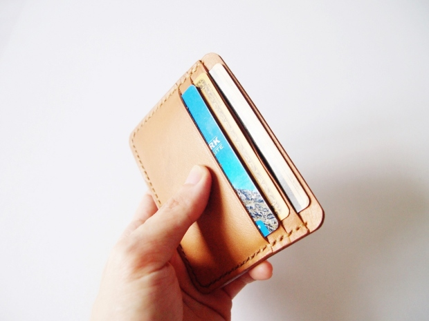 Card Holder Wallet - Light Brown