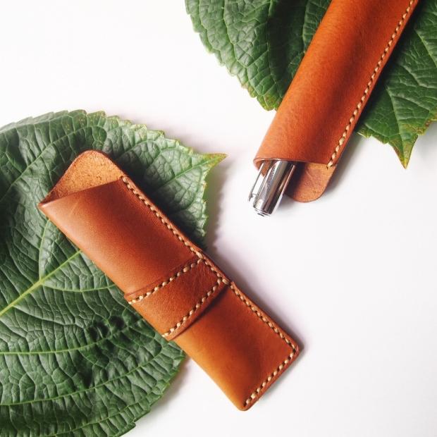 Pen Holder- Tan