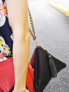 Roxanne Triangle Shoulder Bag