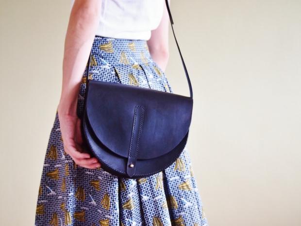 Anne Half Moon Bag