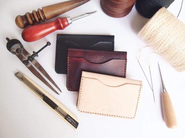Basic Leather Workshop - Card Holder