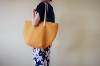 Studio Tote Medium - Mustard