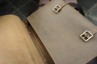 Men's Leather Messenger