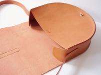 Anne Half Moon Bag - Caramel