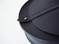 Anne Half Moon Bag - Jet Black
