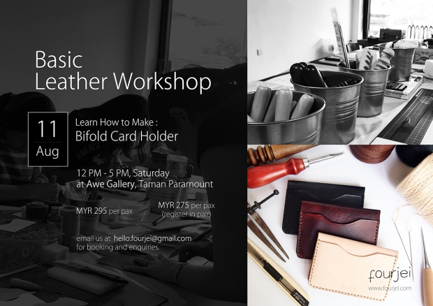 Basic Leather Workshop - 11 Aug