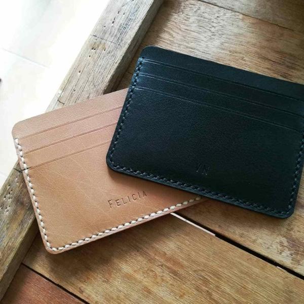 Card Holder Wallet Engraving