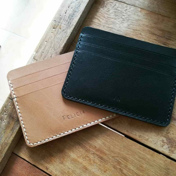 Card Holder Wallet Engraving