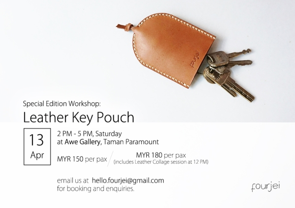Key Pouch workshop